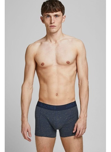 Jack & Jones JACJAMES TRUNKS 3 PACK NOOS 12184161Navy BlaXXL              Renkli
